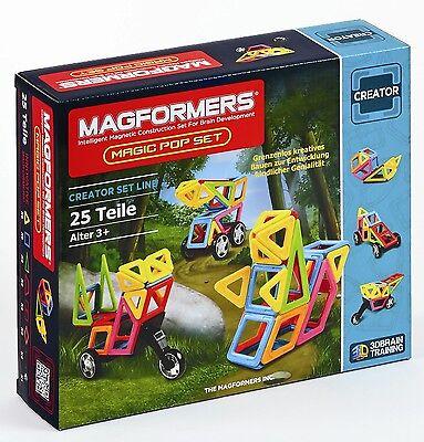Magformers - Magic Pop Set Magnet Konstruktionsmaterial (274-39)