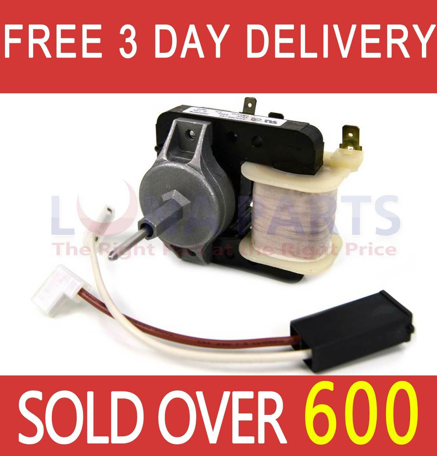 GE REFRIGERATOR EVAP FAN MOTOR W10128551 free shipping