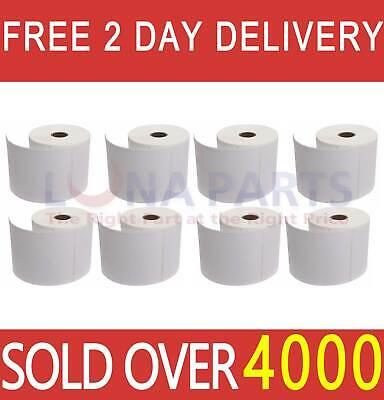 8 Rolls 4x6 Direct Thermal Shipping Labels 250roll For Zebra 2844 Zp450 Eltron