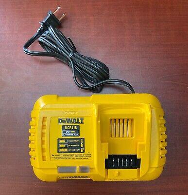 DEWALT DCB118 60V or 20V FLEXVOLT Rapid Battery Charger (Open Box)