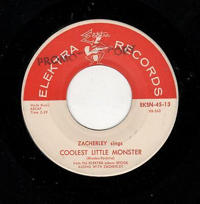 RARE HORROR/HALLOWEEN-(JOHN) ZACHERLEY-COOLEST LITTLE MONSTER/RING-A -DING ORANG