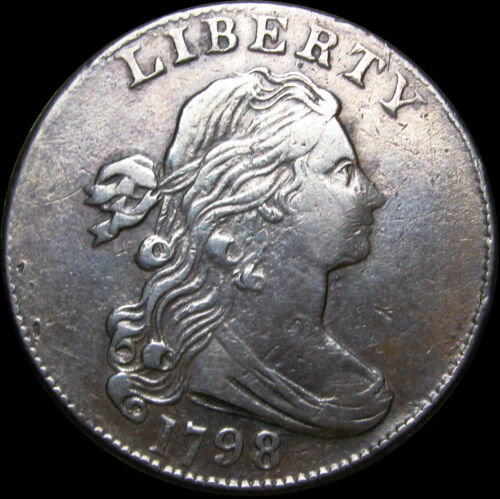 1798 Draped Bust Large Cent Penny ---- 2nd Hair Style STUNNING L@@K ---- #B206