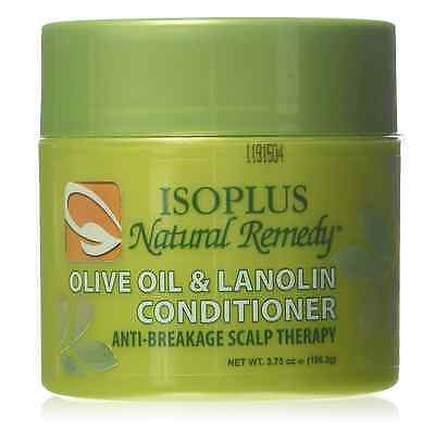 - Isoplus Natural Remedy Olive Oil - Lanolin Conditioner, 4 oz