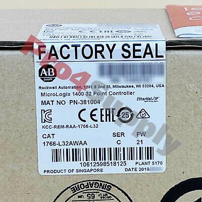 20192020 Allen-bradley Micrologix 1400 32 Point Controller 1766-l32awaa