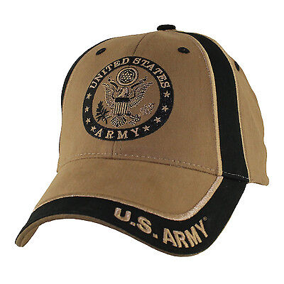 US ARMY WITH SEAL- Two Tone Officially Licensed Military Hat
