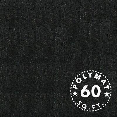 Black Felt 60sqft 16ftX3.75ft roll Crafts holiday decorations Costumes Fabric