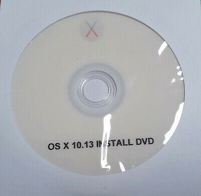 OS X Install Reinstall Recovery Upgrade DVD 10.13 New Certificate Expires 2029