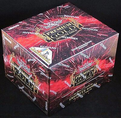 Yu-Gi-Oh Yugioh Premium Gold Infinite Gold Booster Box Pack Sealed (5 Mini)