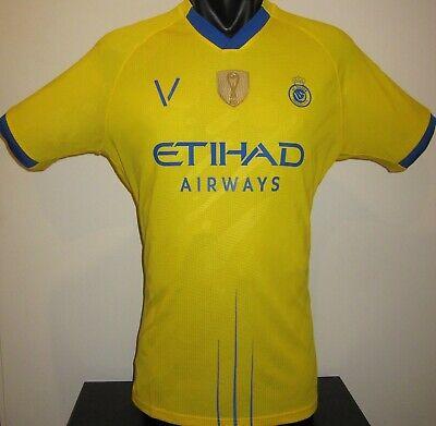 Al-Nassr FC SAUDI ARABIA Victory Home 2020 Football Shirt Jersey Soccer L image