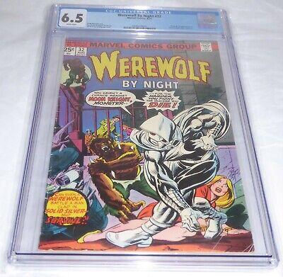 Werewolf By Night #32 CGC Universal Grade 6.5 Origin 1st Appearance Moon Knight