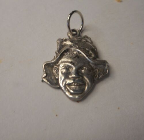 Vintage Johnnie Griffin Sterling Silver Charm
