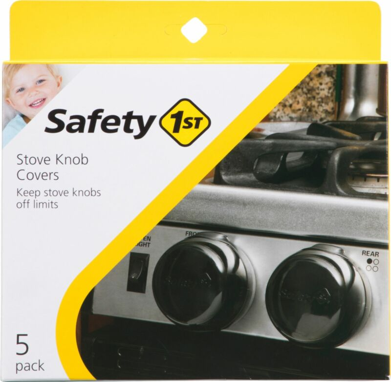 Safety 1st - Stove Knob Covers - Black
