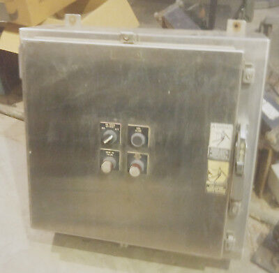 Stainless Steel Hoffman Electrical Enclosure 26 X 24 X 8.