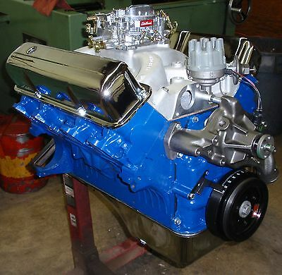 FORD FE BIG BLOCK 390 - 430 HORSE CRATE ENGINE / PRO-BUILT / NEW 351 408 427 428