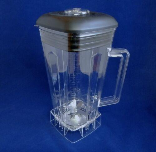 Complete 64oz Jar with Blade, Lid,Center Fill & Nut, Compatible Vitamix Blenders