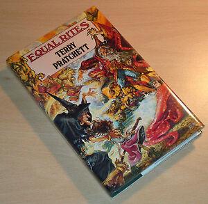 Terry Pratchett Equal Rites 1st Edition 1st print UK Hardback Discworld RARE