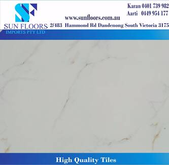 600X600 GLOSSY PORCELAIN TILE FLOORING IN MELBOURNE:NEW YEAR SALE