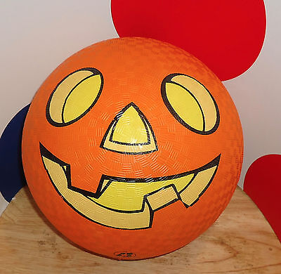 HALLOWEEN JACK-O-LANTERN Ball/Pumpkin 2004 BADEN SPORTS KICK BALL - Sports Halloween Pumpkins