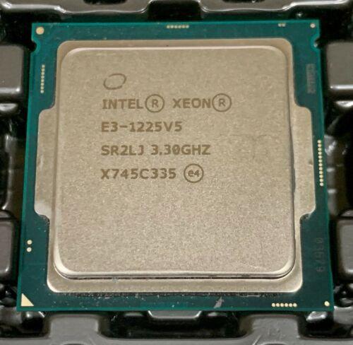 Intel Xeon E3-1225V5 3.30GHz LGA1151 SR2LJ Processor *TESTED*