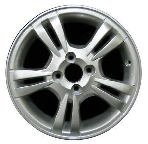 Chevrolet aveo wheels ebay 15 chevrolet aveo 2008 2009 2010 2011 factory oem rim wheel 5394 silver publicscrutiny Images