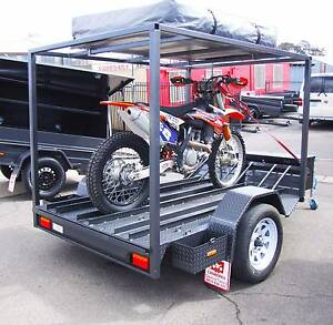 3 Bike Motorcycle Trailer with Tent & Extras Fyshwick South Canberra Preview