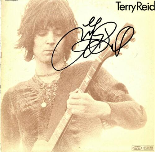 Terry Reid SIGNED Vinyl Record RARE Superlungs!!