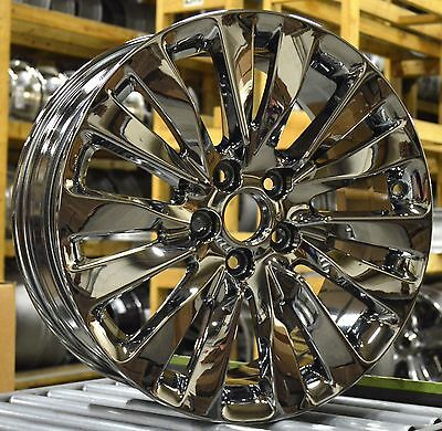 "19"" Acura RLX 2014 2015 2016 2017 Factory OEM Rim Wheel 71824 71835 PVD Chrome"