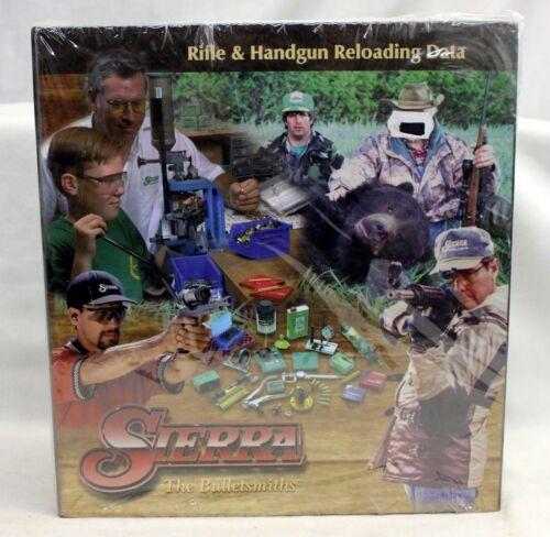 SIERRA 5th Edition Rifle and Handgun Reloading Data Manual FACTORY SEALED Gun