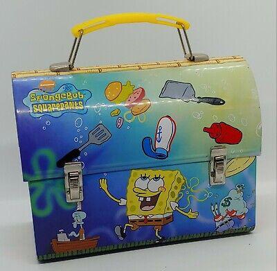 Vintage Spongebob Squarepants Tin Box 2001