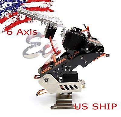 R5 6axis Fully Assembled Mechanical Robotic Arm Clamp Claw For Arduino Raspberry
