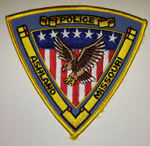 Ashland Missouri Police Patch // FREE US SHIPPING!