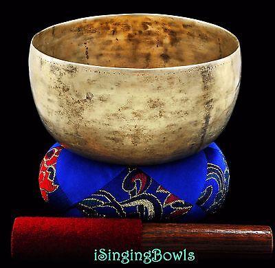 "Antique Tibetan Singing Bowl: Thado 6 5/8"", ca. 18th C., F3 & A#5. VIDEO"
