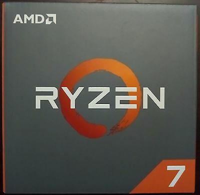 AMD RYZEN 7 1800X 8-Core 3.6 GHz Skt AM4 95W Desktop Processor