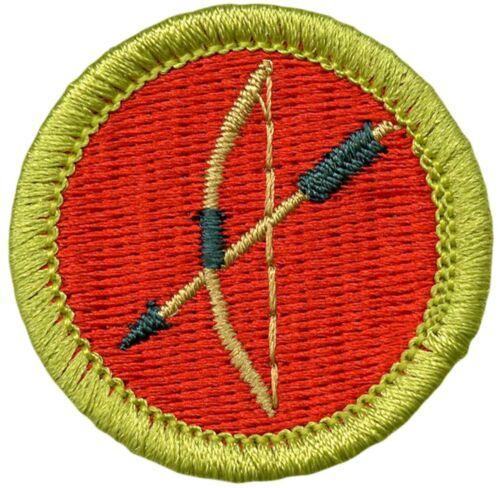 Boy Scout Current Design Merit Badge Archery