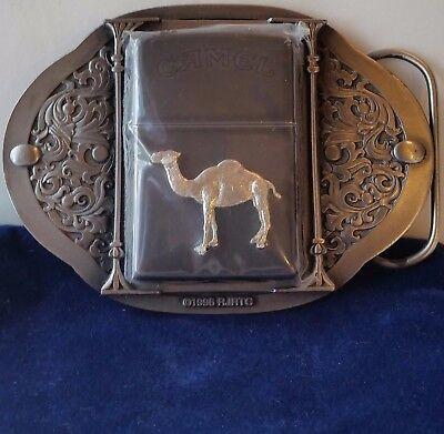 Zippo Camel Belt Buckle Rare # Z184 Only 250 Made RARE 1996