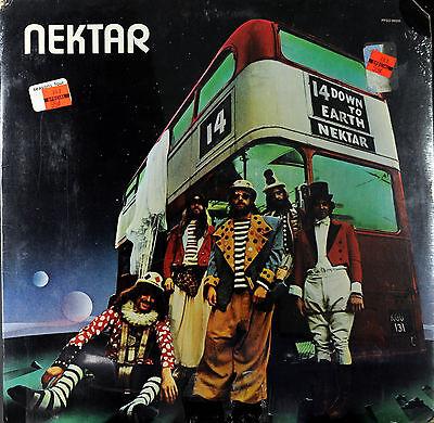Nektar  Down To Earth  Passport 98005 Sealed Vinyl Rock Lp