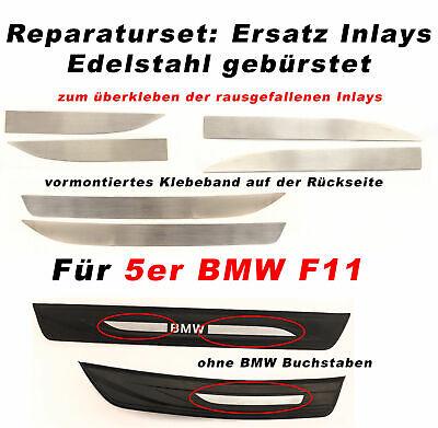 Edelstahl Reparatursatz Einstiegsleisten Inlays für für BMW 5er F10 & F11