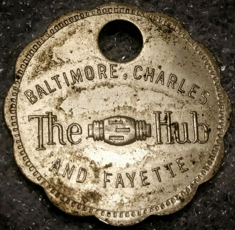 MARYLAND CHARGE COIN - BALTIMORE, THE HUB / AND FAYETTE - BALTIMORE, MD