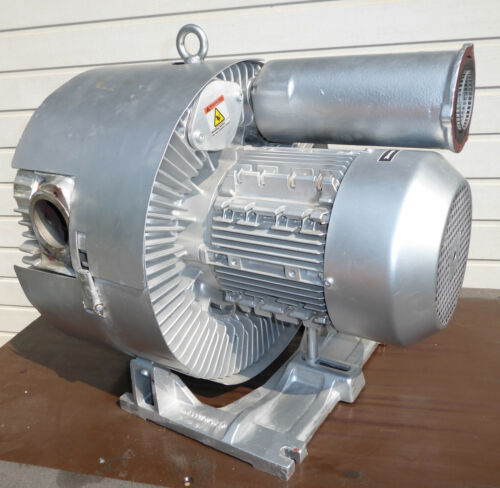 Siemens Elmo-G G-200 2BH1810-7HH27 7,5 Kw Side Channel Blowers Vacuum Pump