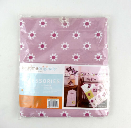 Bedtime Originals Lambs & Ivy Provence Lavender White Daisy Flower Valance