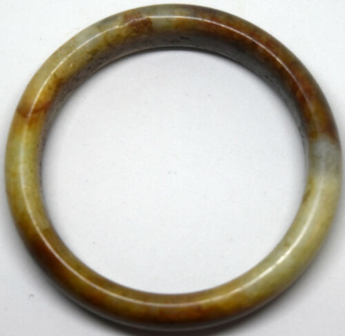 Antique Chinese Untreated/Undyed Grade A Jadeite/Jade Bangle/Bracelet