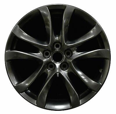 High Gloss Metallic Mirrorlike Black Chrome I Powder Coating Paint 1lb0.45kg