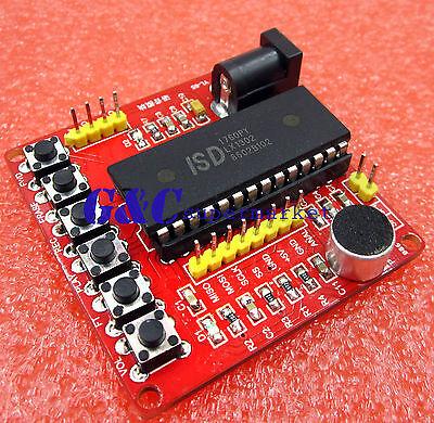 Isd1700 Series Voice Recording Module Class Isd1760 Voice Module Avr Pic M126