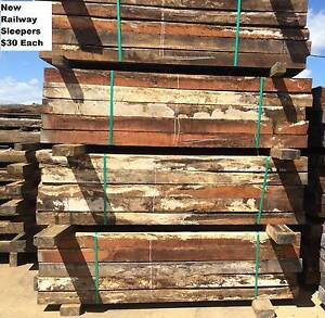 Used Timber Railway Sleepers Gatton Lockyer Valley Preview