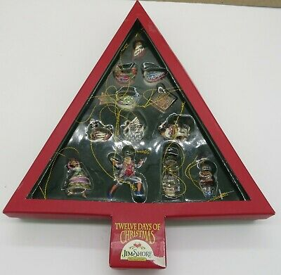 - Jim Shore 2006 12 Days of Christmas Mini Ornaments
