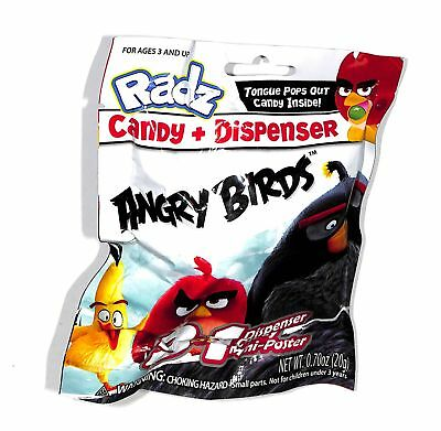 Radz Brand Angry Birds Toy Candy Dispensers 5 Blind Bags - Angry Birds Blind Bags