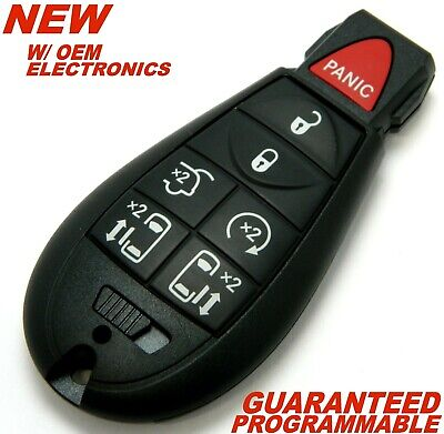 NEW 08 2009 2010 2011 2012 CHRYSLER TOWN & COUNTRY REMOTE START SMART KEY FOB
