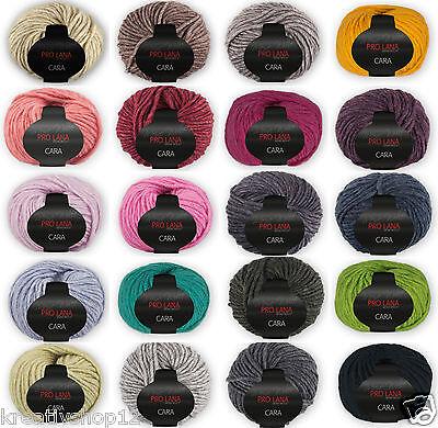 50 g PRO LANA Cara Wolle mit Alpaka (100g/5,90€) Strickgarn Häkelgarn 1365 online kaufen
