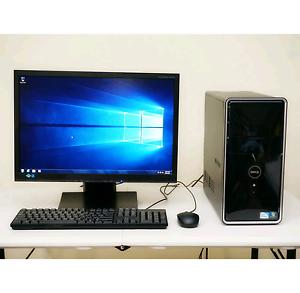 Dell PC 4GB RAM 320GB HDD LCD, Wi-Fi Springwood Logan Area Preview