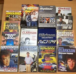 Top Gear / Jeremy Clarkson 26x DVD / 11x Book Collection